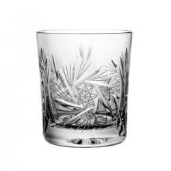 Szklanki kryształowe do whisky lowball 6 sztuk 0208