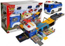 Parking Rozkładany Pojazd Policyjny