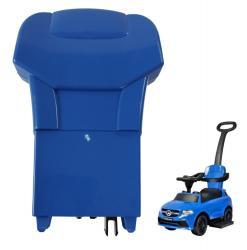 Oparcie do jeździka mercedes niebieskie
