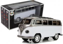 Autobus Resorak z napędem i dźwiękiem Biały