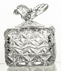 Bomboniera kryształowa box (13645)