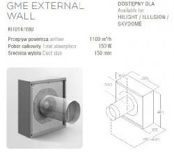 ELICA Silnik Zewnętrzny Naścienny KIT0147880