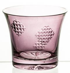 Szklanka kryształowa kolorowa do napojów łatki (10531)