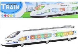 Pociąg Pendolino Na Baterie Światło Dźwięk 43 cm