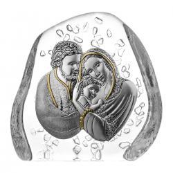 Skałka kryształowa Święta Rodzina 05520