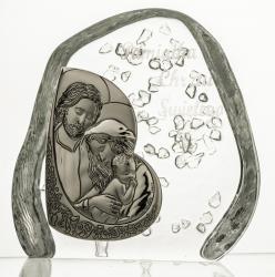 Skałka kryształowa Święta Rodzina 3745