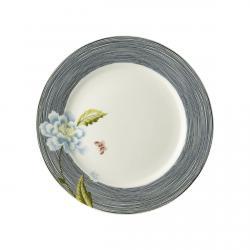 Laura Ashley Heritage 20cm talerz porcelanowy W180448 Midnight Pinstripe