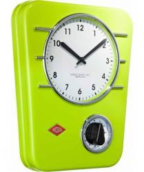 Zegar kuchenny z czasomierzem zielony WESCO