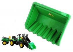 Łyżka do traktorka na pedały Benson/Herman zielona
