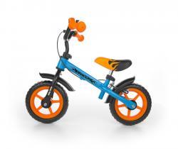 Milly Mally Rowerek biegowy Dragon z hamulcem blue-orange