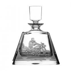Karafka do whisky grawer motocyklista 08088