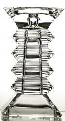 Świecznik kryształowy masywny (02297)