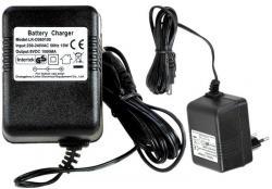 Ładowarka do Aut na Akumulator 6V 500mA z diodą LED