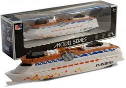 Statek Okręt na Baterie ze Światłami i Dźwiękami