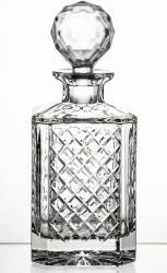 Karafka kryształowa whisky koniak brandy Caro (05496)