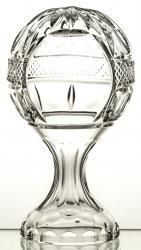 Puchar kryształowy piłka na nodze 06603