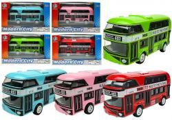 Piętrowy Autobus Napęd Naciągowy 6 Kolorów