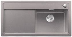 BLANCO ZENAR XL 6 S Silgranit PuraDur alumetalik prawa komora z korkiem InFino i korkiem automatycznym