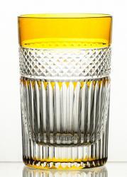 Szklanki kolorowe kryształowe do herbaty 6 sztuk (10833)