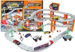 Tor Samochodowy Rail Racing Metalowe Autka 12km/h