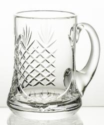 Kufel do piwa kryształowy z wolnym polem pd grawer