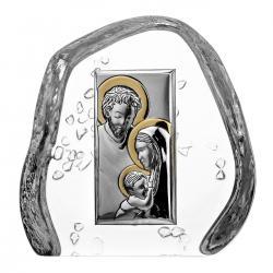Przycisk skałka kryształ Święta Rodzina 4498