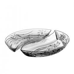 Kryształowe Naczynie Śledziarki 2 sztuki 3114