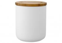 Ladelle Stak Soft Matt Biały pojemnik do przechowywania żywności 13 cm L61081 - DOSTĘPNY NA MAGAZYNIE!!!