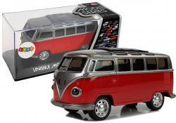 Autobus Resorak z Naciągiem Czerwony ze światłami i dźwiękiem