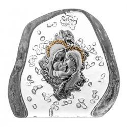 Przycisk skałka kryształ z Święta Rodzina 5289