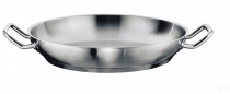 Gastro SUS stalowa patelnia do serwowania 36cm 163051-36