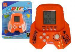 Gra Elektroniczna Tetris Bricks Rakieta Pomarańcz