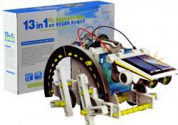 Zestaw Kreatywny Roboty Solarne Robot 13 w 1 DIY
