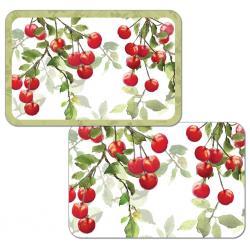 "Cala Home Podkładki na stół dwustronne C45124 ""Cherries"""