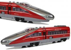 Pociąg Pendolino z Naciągiem Czerwony z Dźwiękiem i Światłami