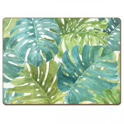 "Cala Home Podkładki korkowe 81850 ""Tropical Green"""