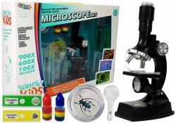 Mikroskop Dziecięcy Edukacyjny dla Małego Naukowca 900x 600x 100x