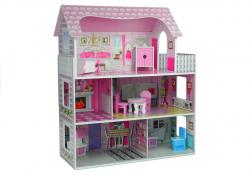 Domek dla lalek Drewniany Villa Stefi Pietrowa