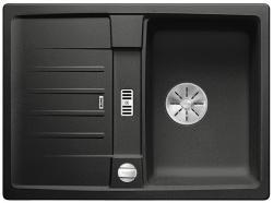 BLANCO LEXA 40 S Silgranit PuraDur Antracyt odwracalny, korek auto., InFino