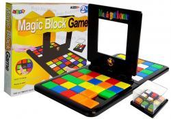 Gra Magiczne Bloki Kolorowe Kostki Kwadrat dla Dwóch Graczy