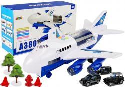 Samolot Transportowy Policji z Naciągiem, Światłami i Dźwiękiem