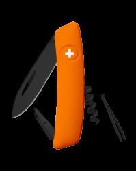 Scyzoryk SWIZA D03 Allblack, Orange 95 mm