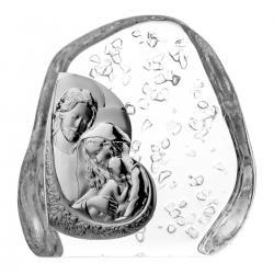 Przycisk skałka kryształ Święta Rodzina 4500