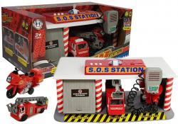 Zestaw Strażacka Stacja Ratunkowa Baza Straż