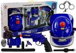 Zestaw Policyjny Hełm Broń Światła i Dźwięki