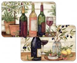 """Cala Home Podkładki na stół dwustronne C174-00016 """"California Wine"""""""