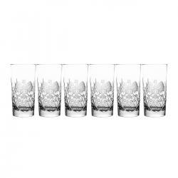 Szklanki grawerowane orzeł long drink kryształowe (00041)