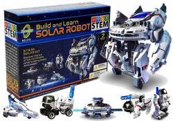 Zestaw Solarny Edukacyjny Robot 7w1