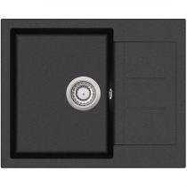 Aquasanita TESSA SQT102-601AWP BLACK METALIK ( automat z przyciskiem )
