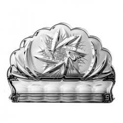 Serwetnik kryształowy dekoracyjny (00526)